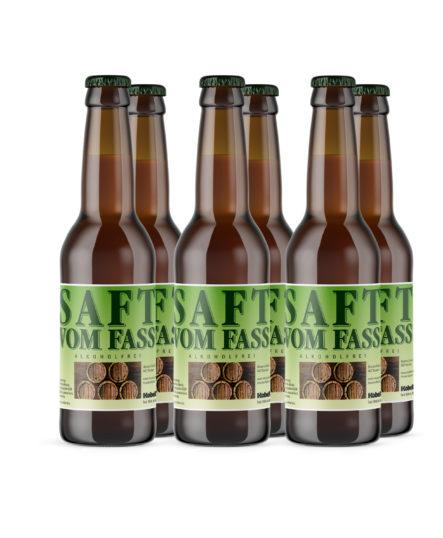 Saft vom Fass alkoholfrei 33cl Sechserpack | Mosterei Kobelt AG |Marbach