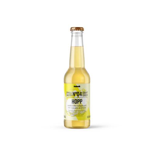 Hopp No. 4 - Kaltgehopfter Schweizer Cider - Mosterei Kobelt + Co.