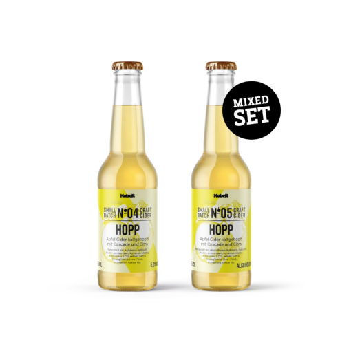 Hopp Set - Kaltgehopfter Schweizer Cider - Mosterei Kobelt + Co.