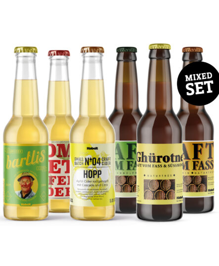 Cider und Saft Box Probierpaket Mosterei Kobelt